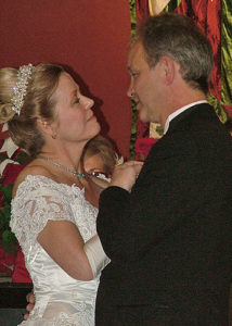 George married his Cinderlla on 12-18-2009 and they lived happily-ever-after in Bahoukas-ville