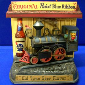 Rare Pabst Train at Bahoukas