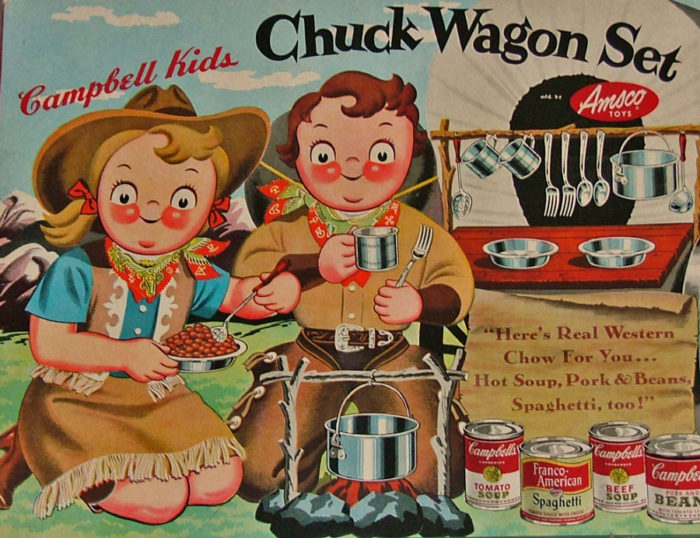Campbell Kids CHuck Wagon Set - Bahoukas in Havre de Grace
