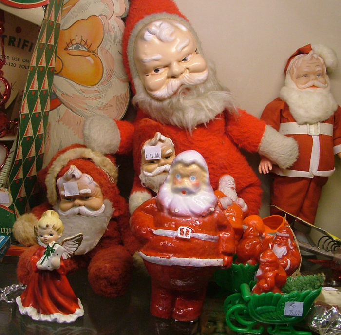 Santas, sno-globes and more at Bahoukas