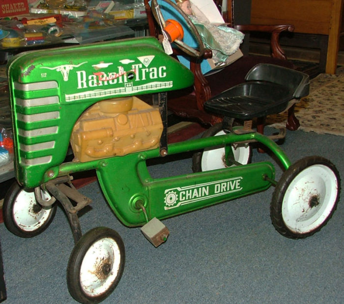 Ranch Trac chain driven pedal tractor available at Bahoukas in Havre de Grace