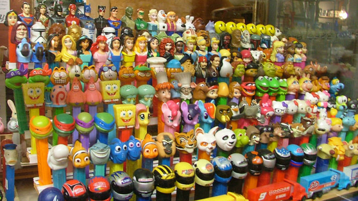 PEZ over 700 including all the presidents from Washington to Obama at Bahoukas Antiques!