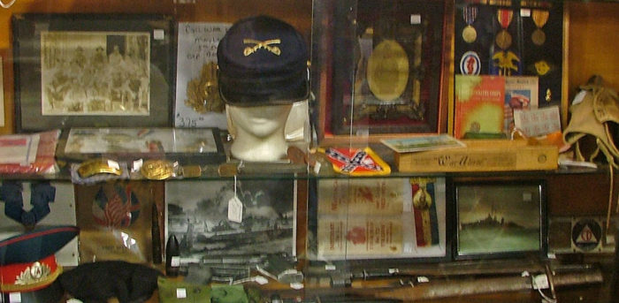 Civil War to Viet Nam Military Memorabilia at Bahoukas
