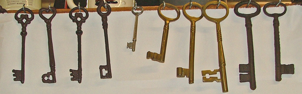 skeleton keys at Bahoukas