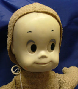 Casper the Ghost Doll at Bahoukas Antiques in Havre de Grace