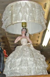 TV lamp - bride - beautiful - Bahoukas