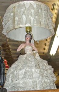 TV lamp - bride - beautiful - Bahoukas