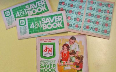 Yes it's ghostly Friday… but can we talk about Green Stamps!