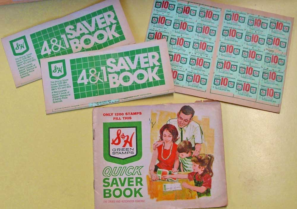 Green Stamps redeemed for great purchases were a thriving business for decades! Visit Bahoukas in Havre de Grace.