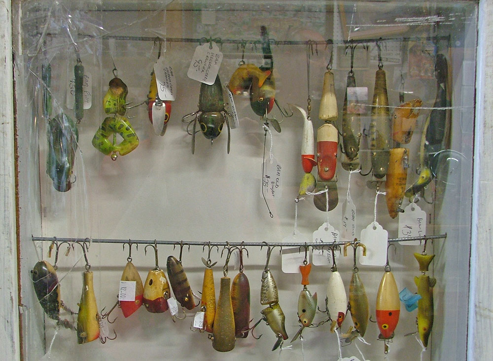 Fishing Lures by Heddon - great collection - Bahoukas Antique Mall