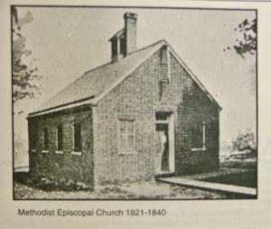 Havre de Grace United Methodist Church in 1821-1840