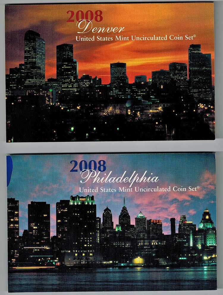 Cover for US Mint Uncirculated Coins - Cover