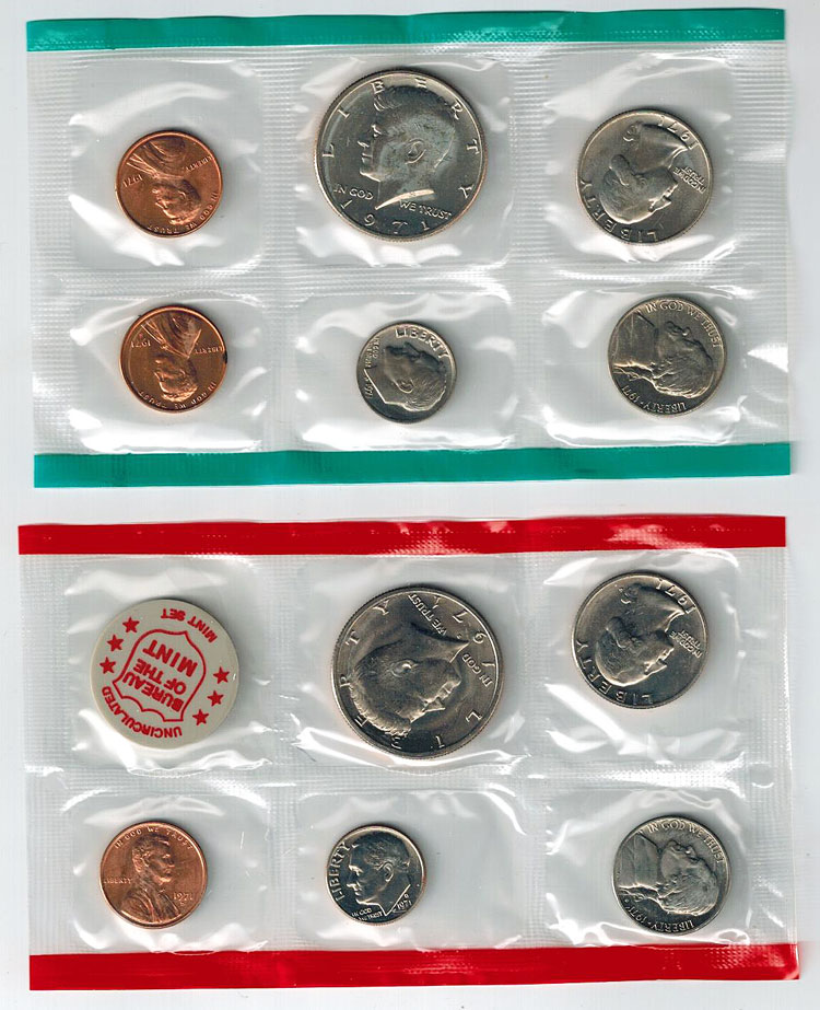 Us Mint Uncirculated Coins