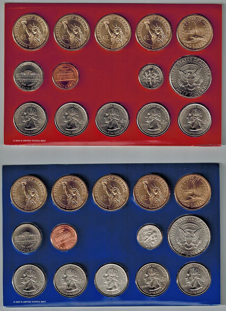 Coin Sets available at Bahoukas Antique Mall