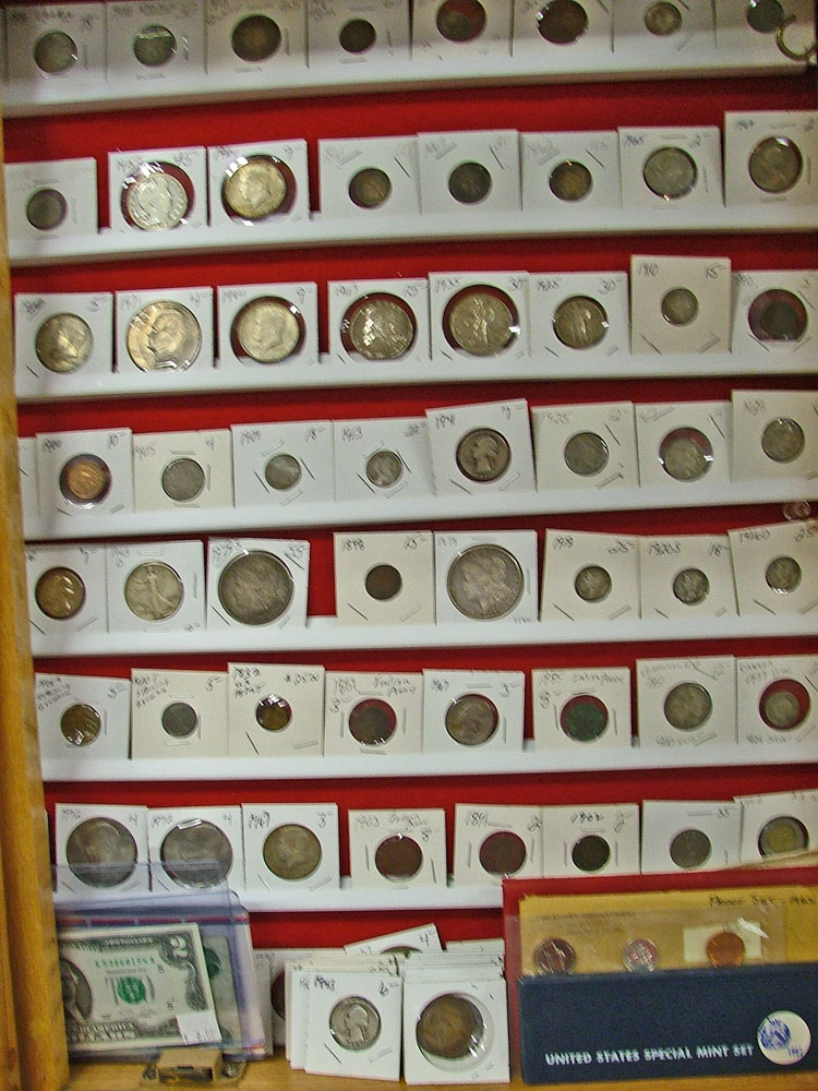 Selection of Collectible Coins available at Bahoukas in Havre de Grace