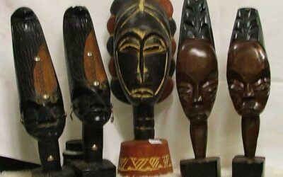 Tucked Amid Collectibles – AFRICAN ART!