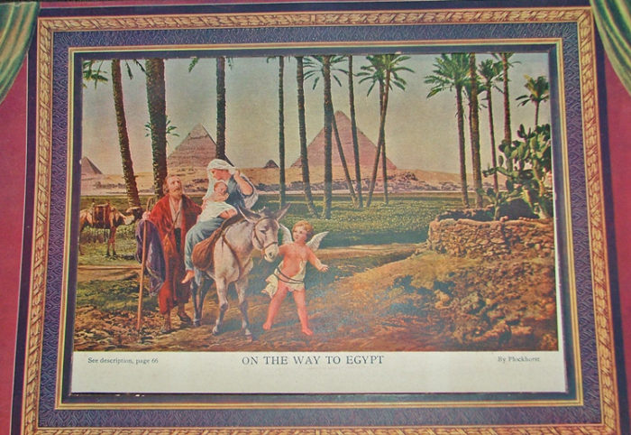 Illustration from the Illuminated Life of Christ