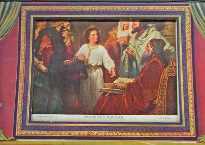Illustration from the Illuminated Life of Christ 1902