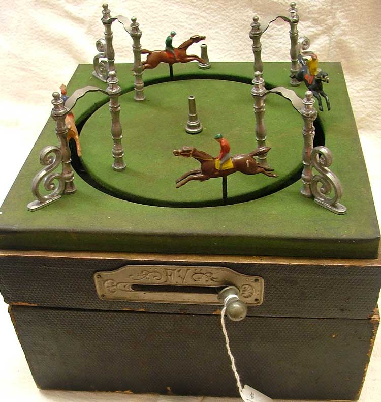 1890 French Horseracing Game - at Bahoukas in Havre de Grace, MD