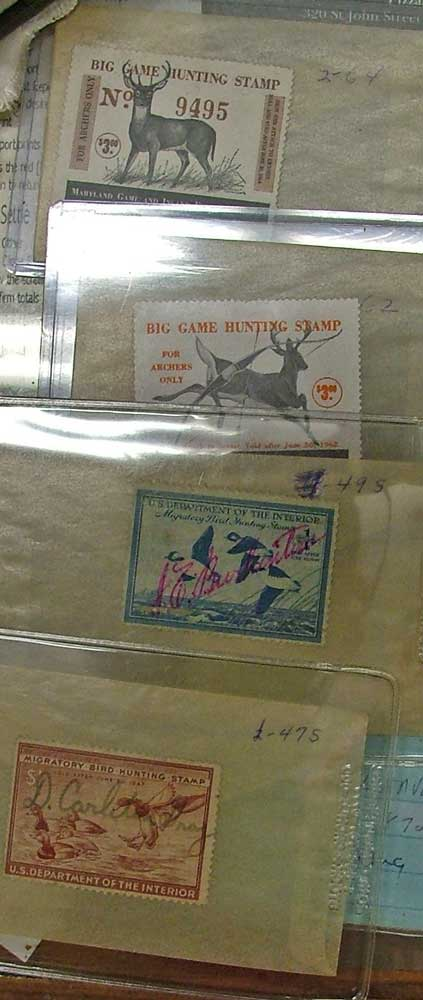 Migratory Birds - Maryland Hunting Stamps