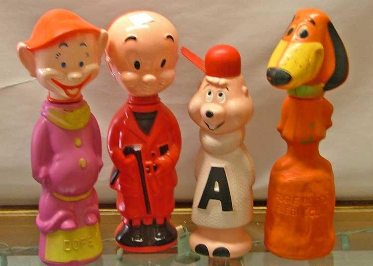 Soaky Bubble Bath Toys - Pinocchio, Bambie and more...