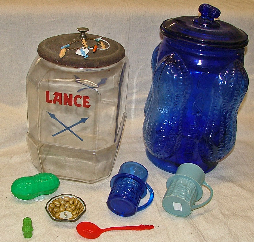 Lance and Planter Peanut Collectibles