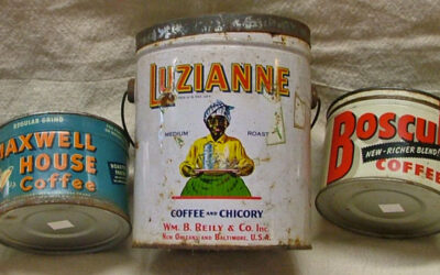 Collectible Coffee Tins