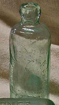 Vintage Kiehl and Kiefer blob top soda bottle, Lancaster PA