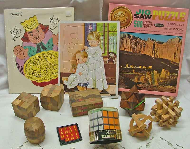 Puzzles for all ages available at Bahoukas