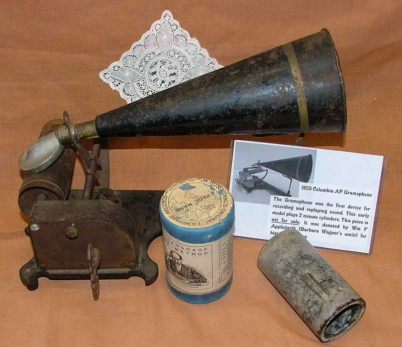 1903 Columbia AP Gramophone or amberola