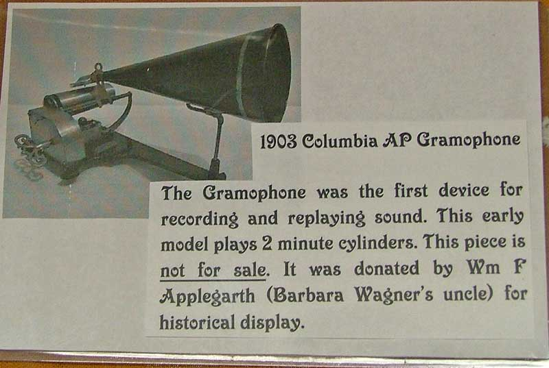info about the 1903 Columbia AP Gramophone