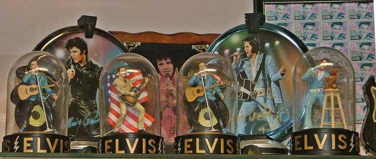 Variety of ELVIS memorabilia