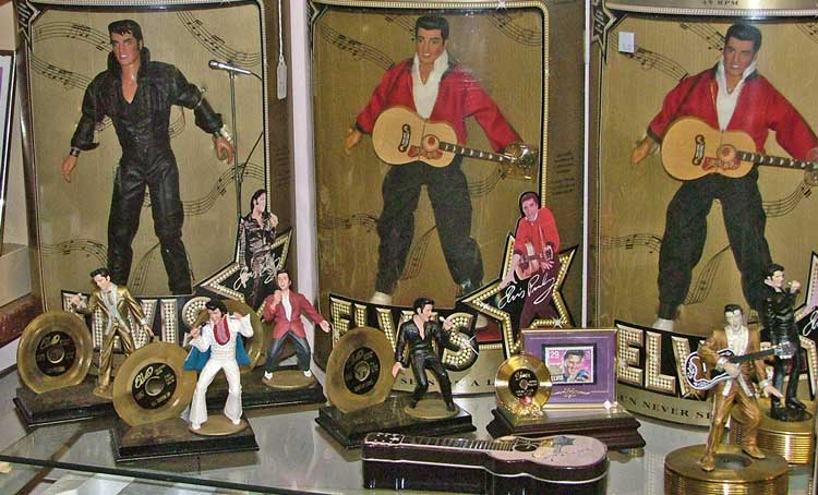 ELVIS memorabilia available at Bahoukas Antiques in Havre de Grace