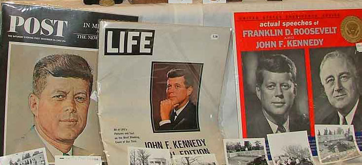 old Post and Life magazines at Bahoukas Antique Mall