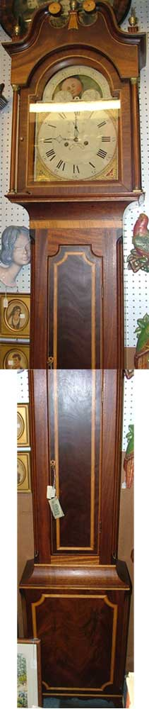 Beautiful Grandfather Clocks at Bahoukas Antique Mall