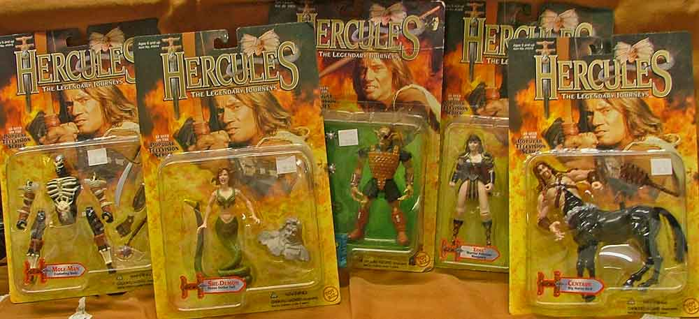 Hercules Collectibles at Bahoukas