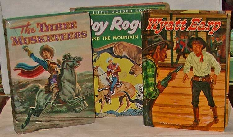 Three Muskateers, Roy Rogers and Wyatt Earp bring great reading in Collectible Books at Bahoukas Antique Mall