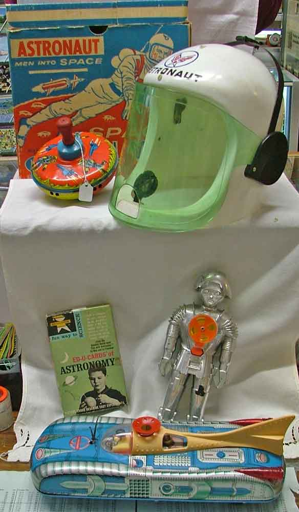 Outer space toys are always great collectible gifts available at Bahoukas in Havre de Grace