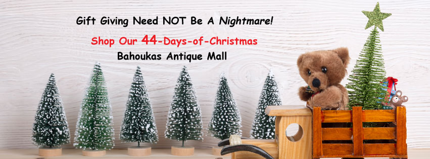 44 days of gift giving ideas from Bahoukas in Havre de Grace, MD