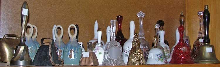dinner bells, school bells, decorative bells - all at Bahoukas in Havre de Grace