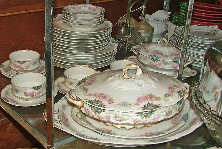 Haviland Limoges, France dishes available at Bahoukas in Havre de Grace