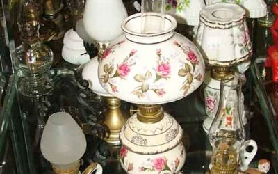 Oil Lamps and more Oil Lamps