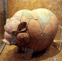 Mahapahit piggy bank from National Museum of Indonesia, Jakarta