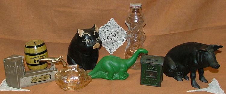 Pygg pots to piggy banks - fun at Bahoukas Antiques