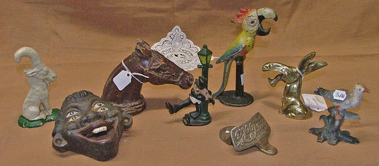 Bahoukas has a fine collection of figural bottle openers.