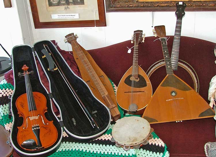musical instruments available at Bahoukas Antiques