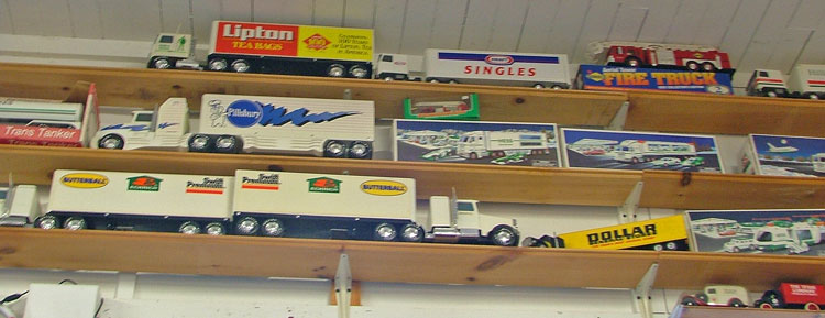 Huge collection of Hess Trucks available at Bahoukas in Havre de Grace