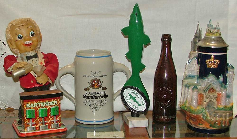 Plenty of beer collectibles at Bahoukas Beer MuZeum in Havre de Grace