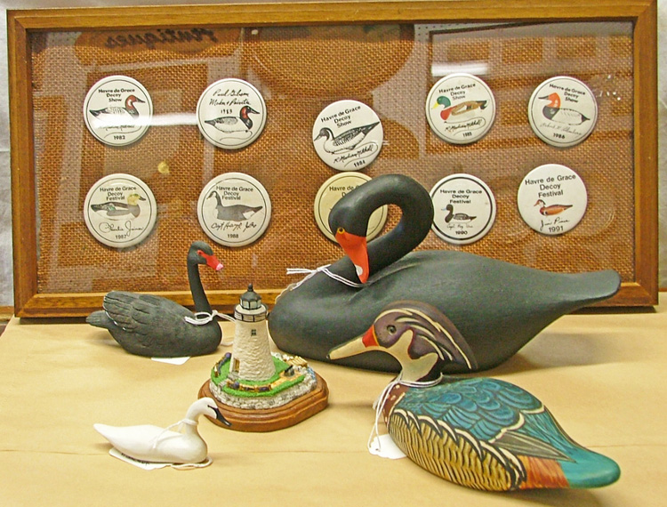 decoy memorabilia available at Bahoukas