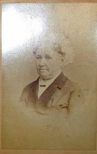 vintage photo of an older woman